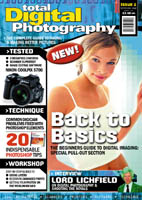 Total Digital Photography magazine: first issue