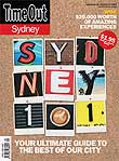 Time Out Sydney first issue cover