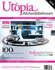 Utopia kitchens first issue cover July 2007
