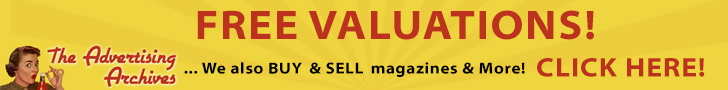 Advertising Archives: magazine valuations