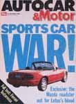 Autocar magazine front cover