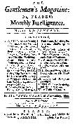 Gentleman's Magazine of 1731