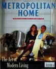 Metropolitan Home magazine launch issue cover