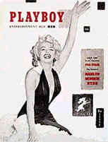 Playboy magazine 1953 launch issue cover