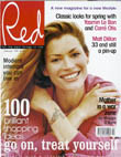 Red magazine cover; Feb 98; launch; Emap