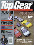 BBC's Top Gear first issue cover