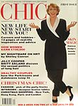 Chic magazine first issue front cover Nov 1993