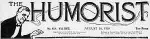 Humorist masthead logo 1930