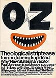 Oz first issue magazine cover