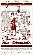 Razzle News CHronicle advert bateman