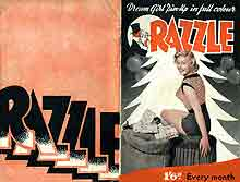 Razzle men's magazine 97 cover