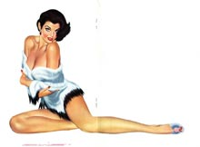 Razzle pin-up