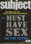 Subject first issue cover 2001