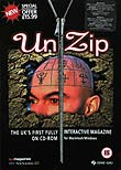 Unzip interactive  music magazine front cover