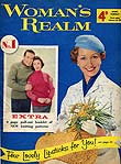 Woman's Realm magazine front cover